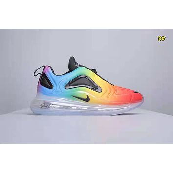 NIKE Air Max 720 Flyknit Fashion New Men Sports Leisure Running Shoes 3#