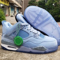 Air Jordan 4 Retro AJ4 Light Blue Men's Sneaker US7-13