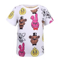 Children T Shirt  At Freddy Baby Infant Cotton O Neck Kid Tshirt 2018 Toddler Teeshirt Boy Girl T-shirt For Baby
