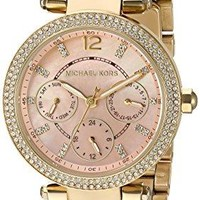 Michael Kors Watches Mini Parker Two-Tone Multifunction Watch