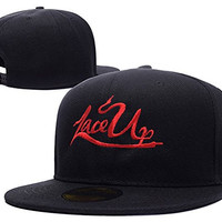 JIAQ MGK Lace Up Logo Adjustable Snapback Embroidery Hats Caps