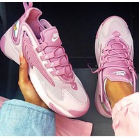 NIKE ZOOM 2K Retro Daddy Shoes Running Shoes Pink