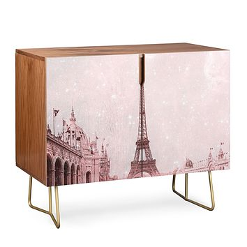 Bianca Green Stardust Covering Vintage Paris Credenza