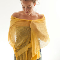 Shredded Scarf No 7 by UrbanRevisions on Etsy