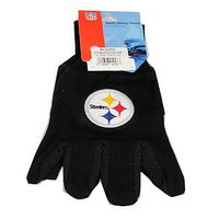 Pittsburg Steelers Team Logo Licensed NFL Sport Utility Gloves-New with Tags!