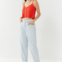 UO Paloma Button-Down Cropped Tank Top | Urban Outfitters