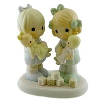 Precious Moments YOU'RE THE BEST FRIEND ON THE BLOCK Porcelain Friendship 524018