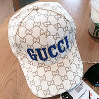 GUCCI  New Fashion More  Letter Women Men Sunscreen Cap Hat