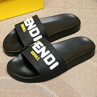 Fendi FF slippers-4