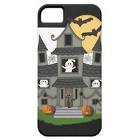 Halloween Haunted House iPhone 5 Cases from Zazzle.com