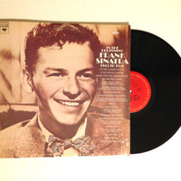 OCTOBER SALE Double Vinyl Record Frank Sinatra In The Beginning 1943 To 1951 LP Albums 1972 Rat Pack