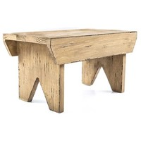 Light Antique Wooden Stool | Shop Hobby Lobby