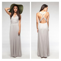 Twisted Racer Back Maxi