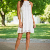 All Sugar And Everything Nice Dress, White