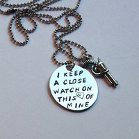 Deal of the day Johnny Cash I keep a close watch on this heart of mine - Johnny Cash Necklace