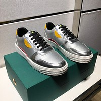 Fendi Man Fashion Casual Shoes Men Fashion Boots fashionable Casual leather Breathable Sneakers Running Shoes