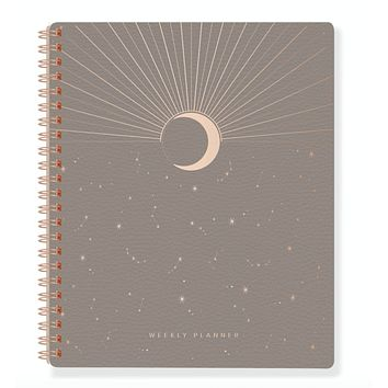 Moon Rise Non-Dated Weekly Planner