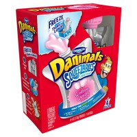 Dannon® Danimals® Squeezables Yogurt Cotton Candy - 4oz/4pk