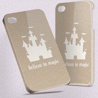 Believe In Magic Disney - Hard Cover Case iPhone 5 4 4S 3 3GS HTC Samsung Galaxy Motorola Droid Blackberry LG Sony Xperia & more