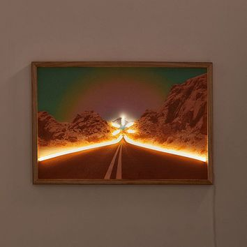 Desert Road Neon Sign   Urban Outfitters