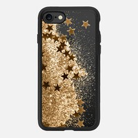 SHAKY STARS 3 GOLD by Monika Strigel iPhone 7 Hülle by Monika Strigel | Casetify