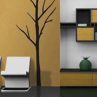 Vinyl Wall Decal Sticker Bare Tree #MCrespo112