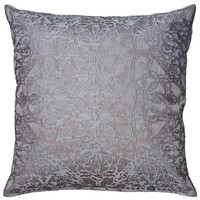 """Machine Embroidered Plum Pillow Cover (20"""" x 20"""")"""