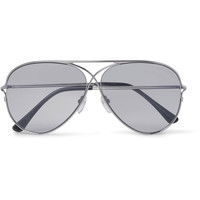 Tom Ford - Aviator-Style Silver-Tone Photochromic Sunglasses