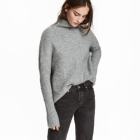 H&M Knit Wool-blend Sweater $39.99