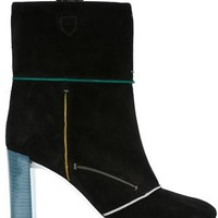 Fendi Contrast Edging Boots - Parisi - Farfetch.com