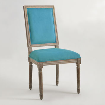 Peacock Square-Back Paige Dining Chairs, Set of 2 - World Market
