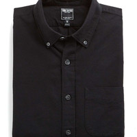 Japanese Selvedge Oxford Shirt in Black