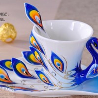 Phoenix Couple Coffee Cups set - 2 pieces from House Beauty