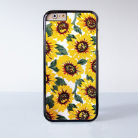 Sun Flower Painting   Plastic Case Cover for Apple iPhone 6S 6S Plus 6 6 Plus 4 4s 5 5s 5c