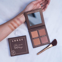 LORAC Take Me To Tantego Tantalizer Bronzer Palette & Brush