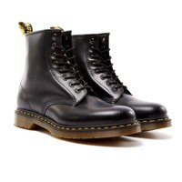 Dr Martens 8 Eye Classic Boot Black - New In at The Idle Man