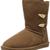 BEARPAW Women's Abigail Winter Boot, Hickory, 6 M US