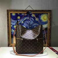 LV Louis Vuitton WOMEN'S MONOGRAM LEATHER MELIE HANDBAG SHOULDER BAG