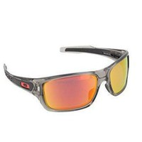 ONETOW Oakley Men's Turbine Polarized Rectangular Sunglasses