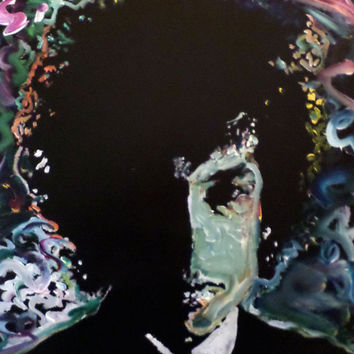 Colorful Pop Art - Bob Dylan - Original Hand Painted Acrylic Painting - Expressionist Art Fine Art  - Wall Art Home Décor Interior