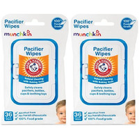 Munchkin Arm and Hammer Pacifier Wipes, White 72 Count