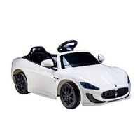 Ride on Cars Kids Maserati Gran Cabrio, White