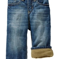 Fleece-Lined Jeans for Baby
