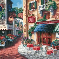 Dimensions Needlecrafts Paintworks Paint By Number, Taste Of Italy   AihaZone Store