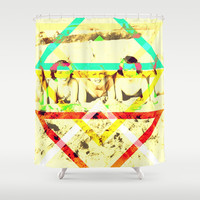 LET S GO TO THE BEACH Shower Curtain by hardkitty