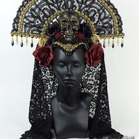 Day of the Dead Headdress