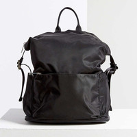 Silence + Noise Black Nylon Backpack - Urban Outfitters