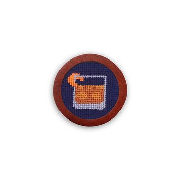 Old Fashioned Needlepoint Golf Ball Marker by Smathers & Branson