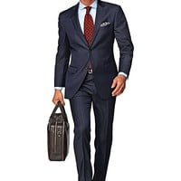 Suit Navy Pinstripe Napoli P1105i-jd   Suitsupply Online Store