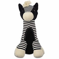 Leaps & Bounds Wildlife Plush Long Neck Zebra Dog Toy | Petco
